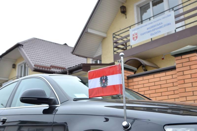 Візит Ї.В. Надзвичайного та Повноважного Посла Австрії в Україні