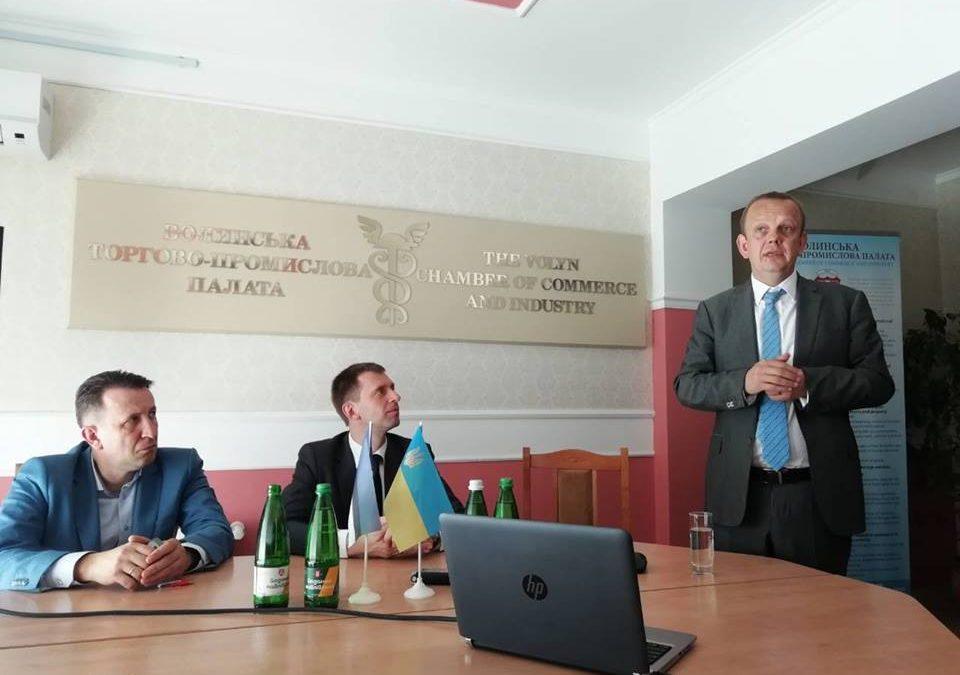 Зустріч Посла Естонії з представниками бізнесу Волині