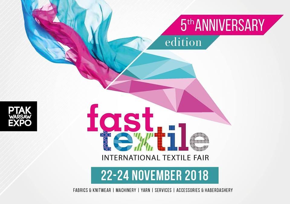 Запрошуємо відвідати міжнародну текстильну виставку, що проходитиме в 5-те: «FAST TEXTILE»
