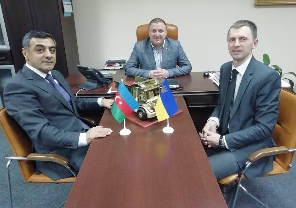 Візит на Волинь президента міжнародного альянсу «Азербайджан-Україна»