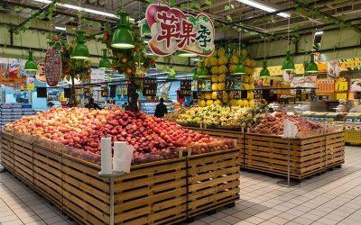 Швидке входження українських товарів в мережі супермаркетів Китаю