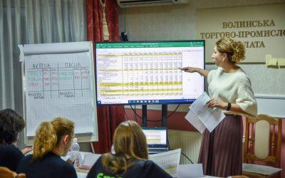 Волинські підприємці підвищували свою фінансову грамотність