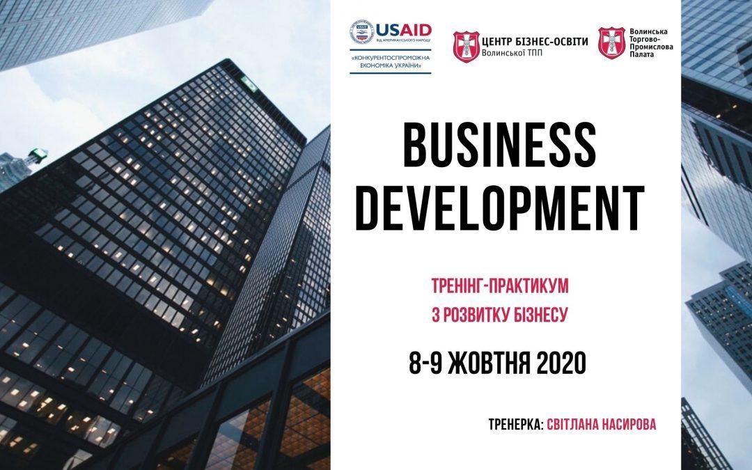 "Тренінг-практикум ""Business Development"""