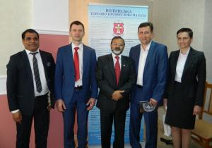 Візит Надзвичайного і Повноважного Посола Республіки Індія в Україні