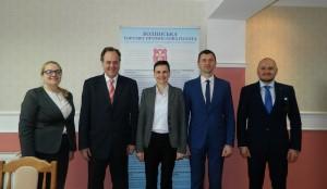 Робочий візит на Волинь Надзвичайого і Повноважного Посла Республіки Хорватія в Україні Томіслава Відошевіча